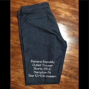 Banana Republic Outlet Trouser Bermuda Shorts